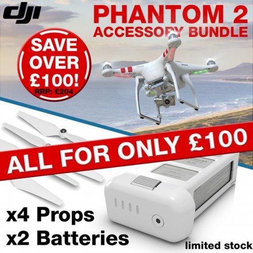 DJI Phantom 2 Accessory Bundle £100 Saving over £100 @ London Camera Exchange