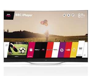 LG 77EC980V 77 inch Curved OLED 4K Ultra HD 3D Smart TV Freeview HD £24999.00 @ Richersounds