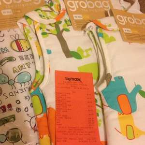 Grobag from £8.00 @ TKMaxx instore