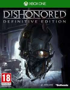 Dishonored: The Definitive Edition Xbox One/PS4 £19.25 @ Rakuten/gameseek With Code