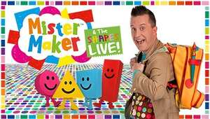 2 For 1 on Tickets - Mister maker Live at New Alexandra Theatre Birmingham £23.30 @ ATG Tickets (Other shows / venues available)
