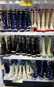 Emma Bridgewater Ladies Wellies, £9.99 at Home Bargains