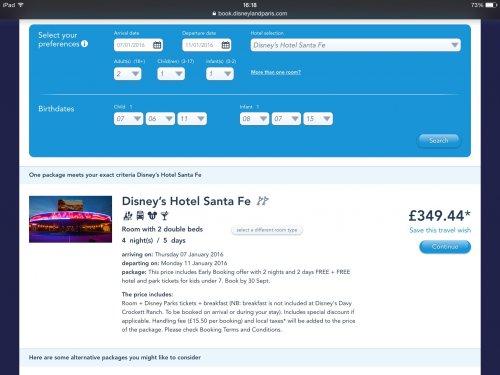 Disneyland Paris 4nights 5 days hotel and park tickets & flights from Dublin £590 @ Aer Lingus / Disneyland