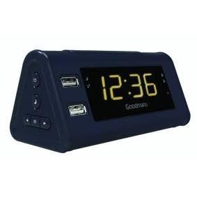 Goodmans Gcrusb03 Alarm Clock Radio with USB Charging £12.99 @ B&M Homestores
