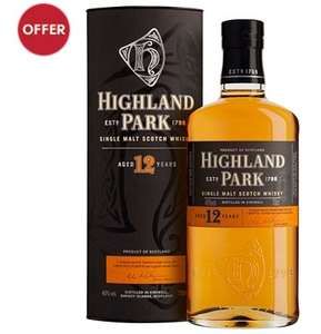 Highland Park 12 Year Old Single Malt £21.75 @ Co-op food