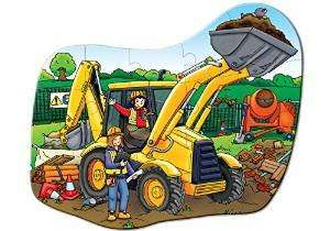 Orchard Toys Big Digger Floor Puzzle £4.46 @ Amazon . Add on Item .