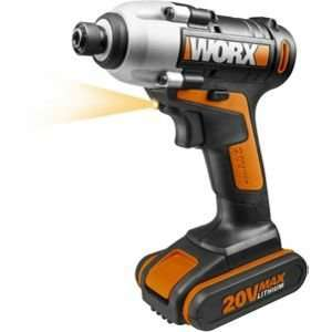 Worx WX290.1 20V Li-ion Cordless Impact Drill Driver - Includes Battery - Price reduced until 12th Sept + 106 Nectar points and potentially £1.06 quidco on click and collect @ Homebase