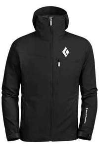 Black Diamond men's Dawn Patrol soft shell jacket @ Snow & Rock - £129