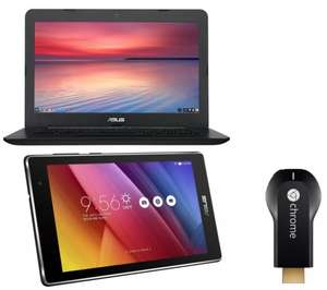 ** ASUS C300 Chromebook, Tablet & Chromecast Bundle now £199 @ Currys (Free Delivery or Free CnC) **