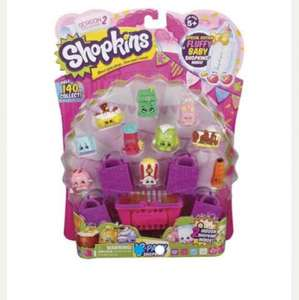 shopkins 12pk mini figures 2 for £15 @ tesco clubcard boost available (free C&C)