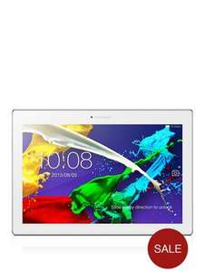 Lenovo TAB 2 A10, 2Gb RAM, 16Gb Storage, 10 inch Tablet - White/Blue Plus £30 Google Play vouchers £149 @ Very