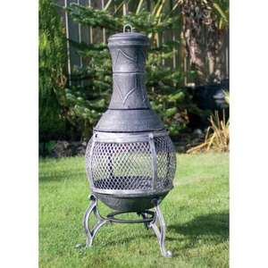 steel chiminea half price @ b&m bargains. was £29.99 now £14.99