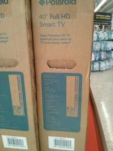 "Polaroid 40"" full hd 1080p smart tv £189 - ASDA Woking"