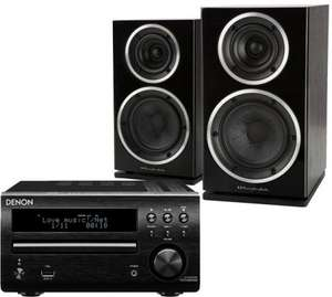 Denon D-M40DAB Hifi with Wharfedale diamond 220 Speakers £349 @exceptional AV