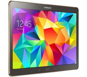 """SAMSUNG Galaxy Tab S 10.5"""" Tablet - Bronze Or White £298 @ Currys"""