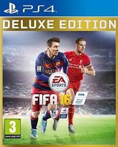FIFA 16 DELUXE EDITION PS4 £49.89 @ Amazon (Possibly cheaper using Flubit)