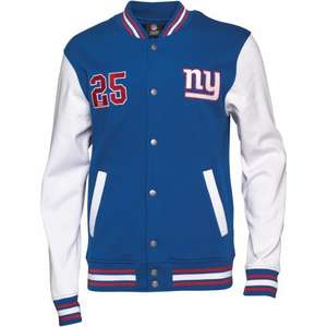 Majestic Athletic Mens New York Giants NFL Jacket All Sizes Small To XXXL £19.98 deliveerd @ M&M Direct