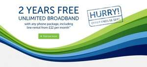 SSE Broadband + Phone + Talk Weekend + £60 topcashback for £144 a year
