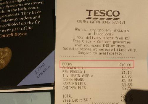 "Terry Pratchett, ""The Shepherd's Crown"" £10 @ Tesco"