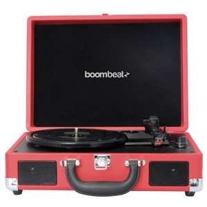 Boombeatz retro record player turntable £39.99 @ B&M