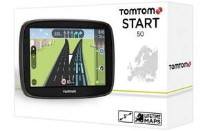 TomTom Start 50 Lifetime Maps Full Europe £89.00 @ Halfords
