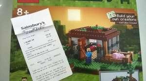 Lego Minecraft The First Night £10.00 @ Sainsburys instore
