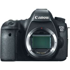 Canon 6D DSLR (Body Only) + SanDisk SD 64GB 60MB/s Card + Calumet LP-E6 Battery + Manfrotto Shoulder Bag III - £1039 @ CALUMET