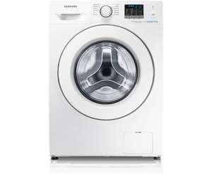 Samsung Ecobubble WF80F5E0W4W Free standing 8Kg 1400RPM Washing Machine- White with Free Samsung Digital Camera @ AO.com £369 Using code