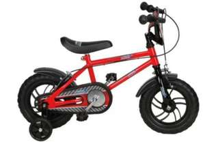 Urban Racers 12 inch bike with stabilisers £15 in store at Tesco