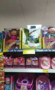 Cabbage patch kids (twinkle toes) £9.99 from B&M's