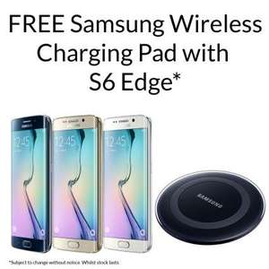 Samsung Galaxy S6 Edge 64gb any colour - £555.60 inc free wireless charging pad  @ Clove