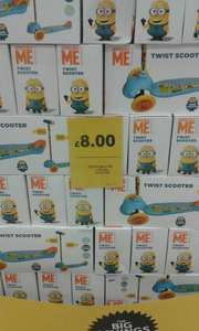 Minion 3 wheel Twist Scooter £8.00 @ Tesco instore