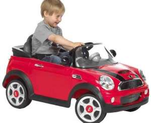 6v Mini Cooper S Red Car from toys r us £99.96 down from £259.99 free delivery