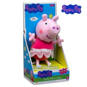 PEPPA PIG - TALKING BALLERINA £4 was £11.50 @ Sainsbury's instore
