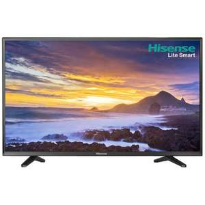 "Hisense LTDN55K220WSEU 55"" Smart TV - Black £359 @ AO"