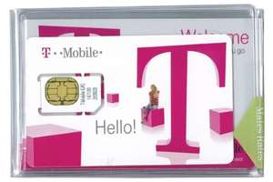 T-Mobile Data Sim (3G Speed) - 6 Months Unlimited Web Browsin £27.99 @ simdropshop / ebay