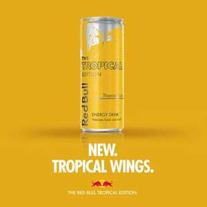 FREE Can of Tropical Red Bull