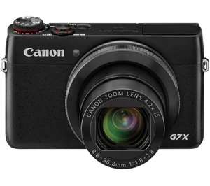 Canon PowerShot G7X £356 @ Currys + £341.01 through Bespoke Offers (Possibly £289.86 following Bespoke Offers Quidco cashback - 15%)