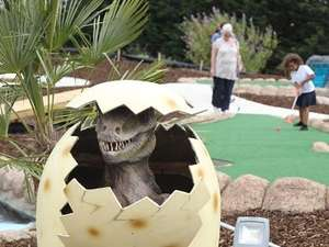 Dinosaur Escape (Crazy Golf)  - 50% off all tickets!  @ Littlebird (Example Family Four £13 - Usually £26)