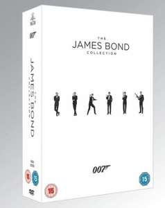TESCO DIRECT James Bond (23 titles) Blu-ray Collection £70 (Cheapest preorder)
