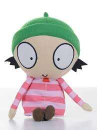 Sarah & Duck: Sarah Soft Toy with Sound with Free Calendar only £3.82 delivered (Use code BANKHOL15) @ BBC Shop