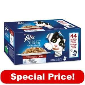 88 x 100g Felix As Good As It Looks - Only £18.99! Zooplus Flash sale