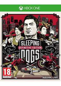 Sleeping Dogs Definitive Edition: Limited Edition (PS4/Xbox one) BASE £11.99
