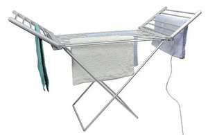 Fine Elements Foldable Heated Airer, White £31.61 @ Amazon