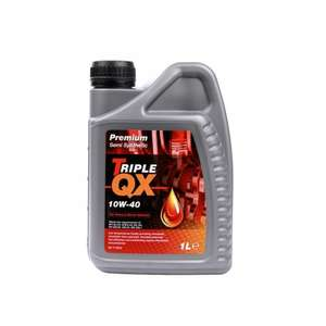TRIPLE QX 10w40 Semi Synthetic Engine Oil - 5ltr £9.99 delivered @ Carparts4less