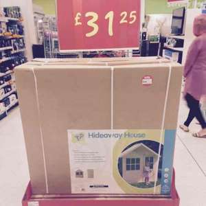 hideaway house lodge play house £31.25 @ asda in-store