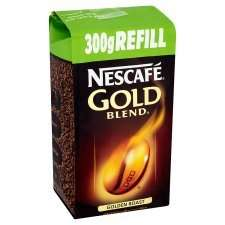 Nescafe Gold Blend Instant Coffee Refill 300g Tesco and Co-op £6.00