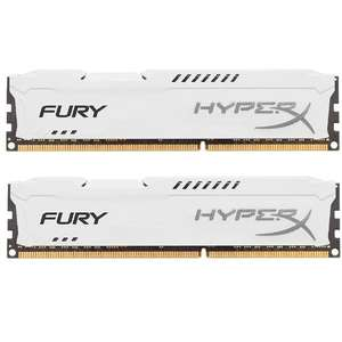 HyperX FURY Series 16GB (2x 8GB) DDR3 1866MHz CL10 DIMM Memory Module Kit - White £65.99 AMAZON