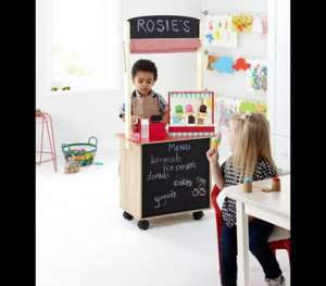 ASDA **IN STORE ONLY** WOODEN CAFE/PLAY SHOP NOW HALF PRICE £17.50