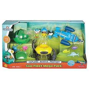 Half Price! Octonauts Gup Fleet Mega Pack £24.99 @ Argos
